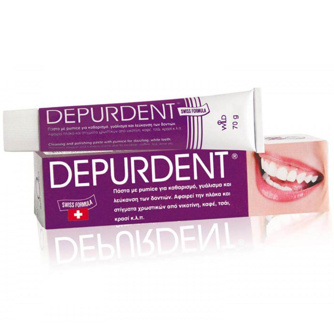 Emoform Depurdent Οδοντόκρεμα για την Αφαίρεση της Πλάκας & των Χρωστικών Στιγμάτων50ml