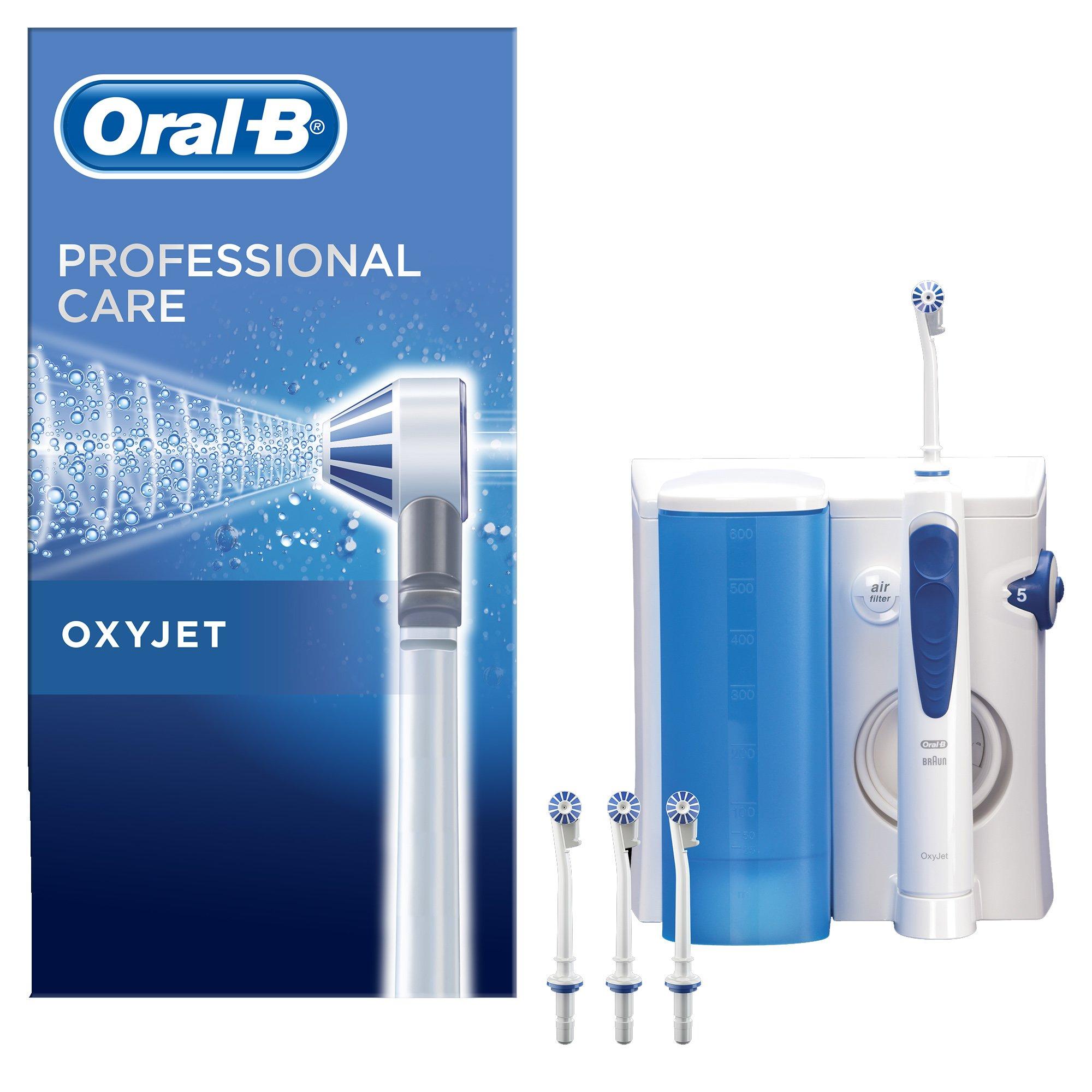 Oral-b Braun Irrigator Profesional Jet Oxyjet Συσκευή Καταιονισμού (Δεν Χρησιμοποιείται ως Ηλεκτρική Οδοντόβουρτσα)