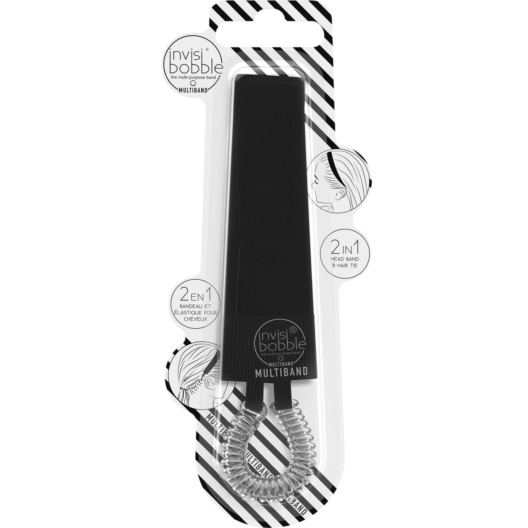 Invisibobble Multiband True BlackΚορδέλα -Λαστιχάκι Μαλλιών υγιεινή   φροντίδα μαλλιών   φορμάρισμα μαλλιών  amp  αξεσουάρ