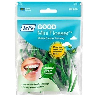 Tepe Mini Flosser Για Απαλό Και Ααποτελεσματικό Καθαρισμό Ανάμεσα Στα Δόντια 36τμχ