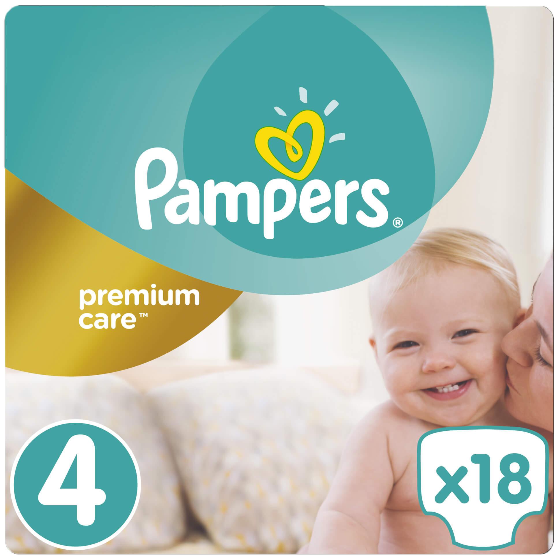 Pampers Premium Care No4 Maxi (8-14kg) 18πάνες μητέρα παιδί   περιποίηση για το μωρό   πάνες για το μωρό