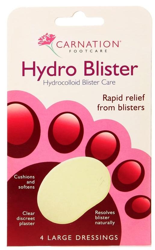 Vican Carnation Hydro Blister Επιθέματα από Υδροκολλοειδές για Γρήγορη Ανακούφιση από τις Φουσκάλες 4τμχ