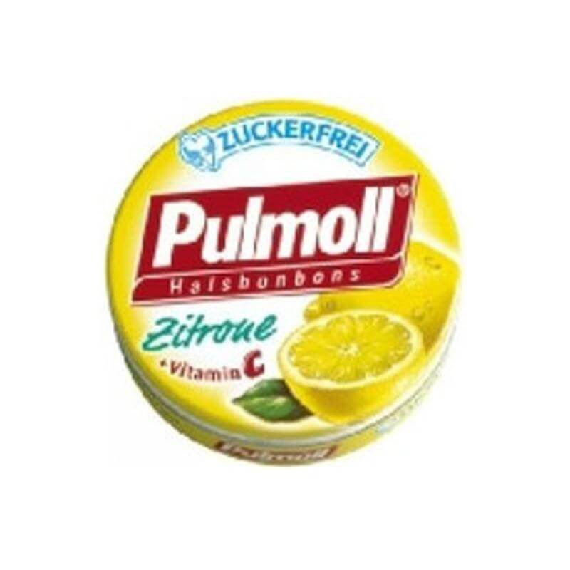 Pulmoll Καραμέλες με γεύση Λεμόνι & Βιταμίνη C