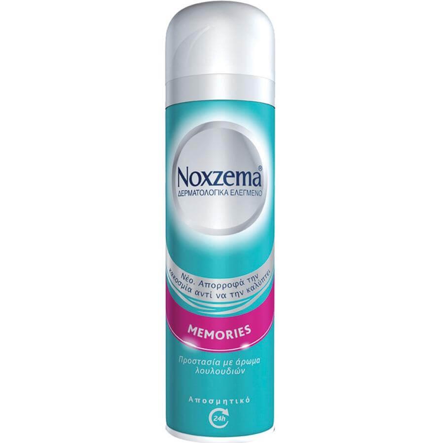 Noxzema Memories Spray Ευχάριστη Αίσθηση Φρεσκάδας 48h Προστασία και Περιποίηση με Άρωμα Λουλουδιών 150ml