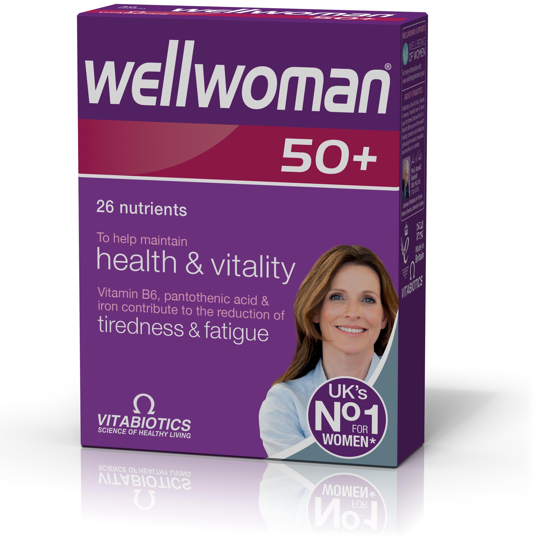 Vitabiotics Wellwoman 50+ Συμπλήρωμα Διατροφής Ειδικά Σχεδιασμένο για Γυναίκες Άνω των 50 Ετών 30tabs
