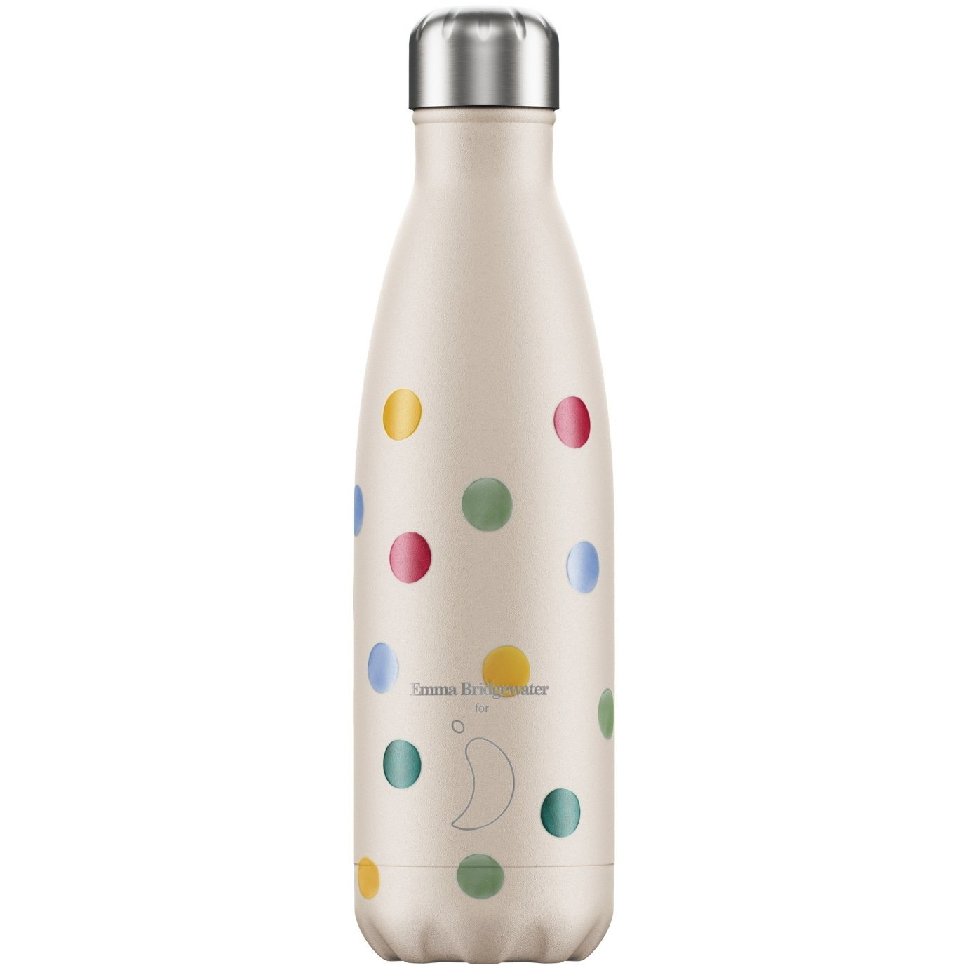 Chilly's Bottle Polka Dot Ανοξείδωτο Θερμός με Πουά Σχέδιο 260ml
