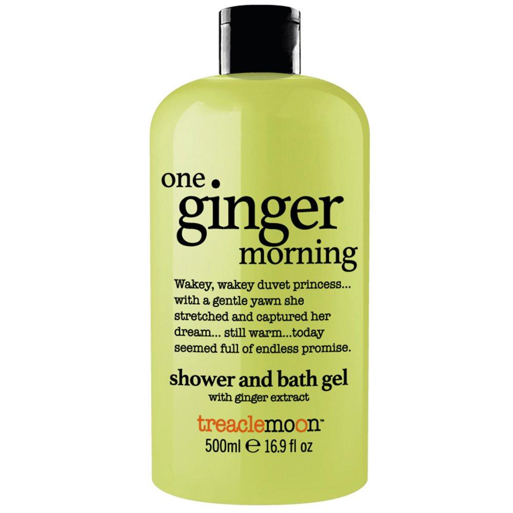 Treaclemoon One Ginger Morning Bath & Shower Gel Αναζωογονητικό & Ενυδατικό Αφρόλουτρο Σώματος με Εκχύλισμα Τζίντζερ 500ml