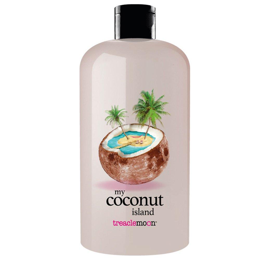 Treaclemoon my Coconut Island Shower & Bath Gel Αναζωογονητικό & Ενυδατικό Αφρόλουτρο Σώματος με Εκχύλισμα Καρύδας 500ml