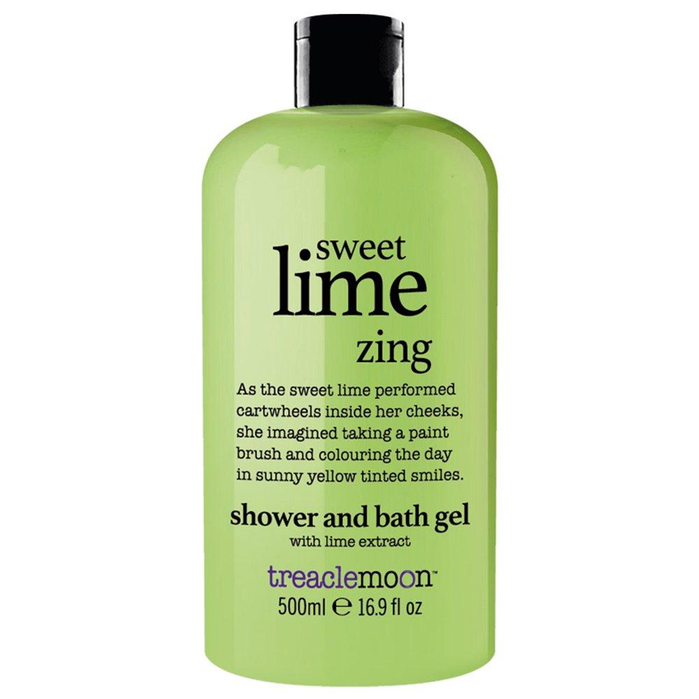 Treaclemoon Sweet Lime Zing Shower & Bath Gel Αναζωογονητικό & Ενυδατικό Αφρόλουτρο Σώματος με Εκχύλισμα Μοσχολέμονου 500ml