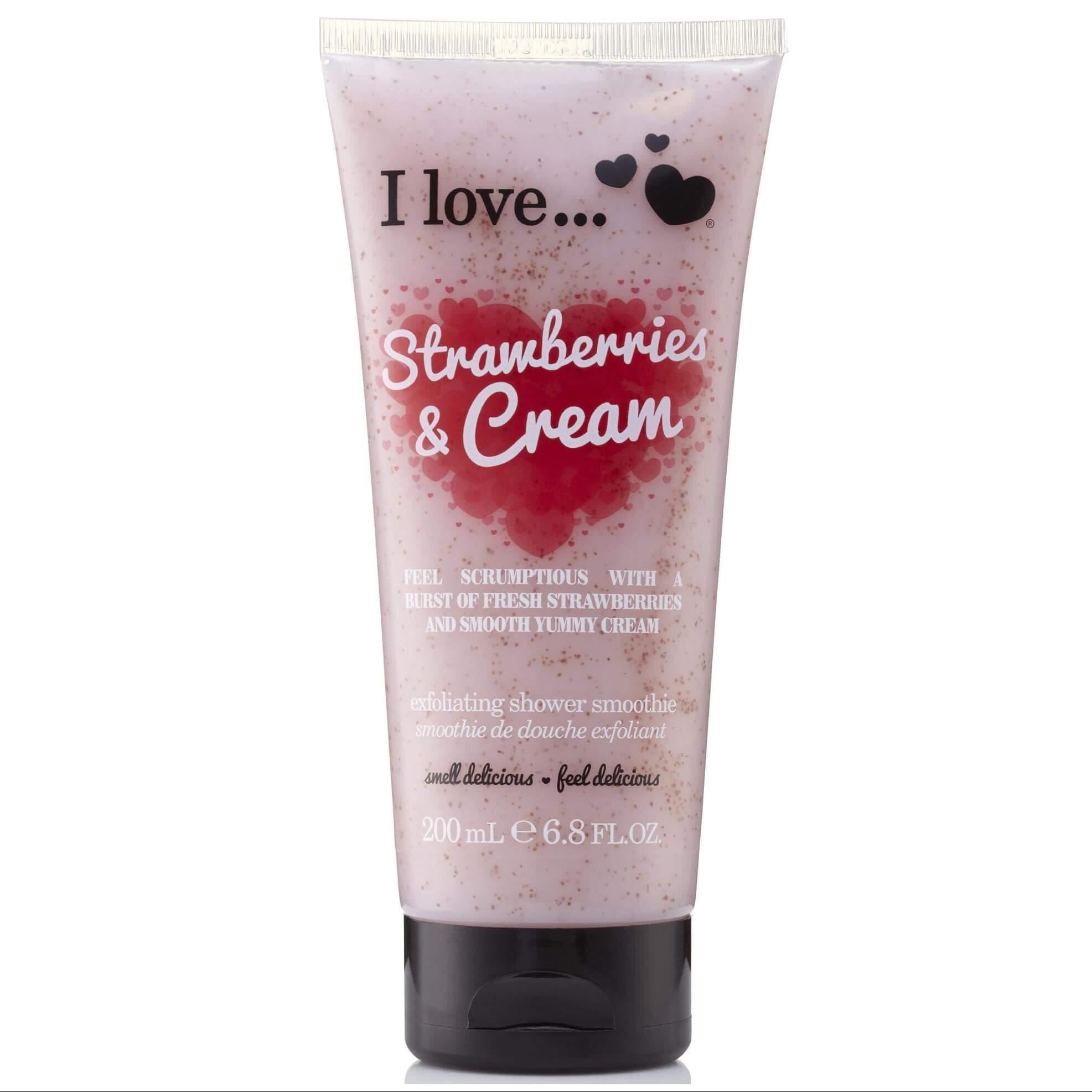 I love… Exfoliating Shower Smoothie Απολεπιστικό Αφρόλουτρο 200ml – Raspberry & Blackberry