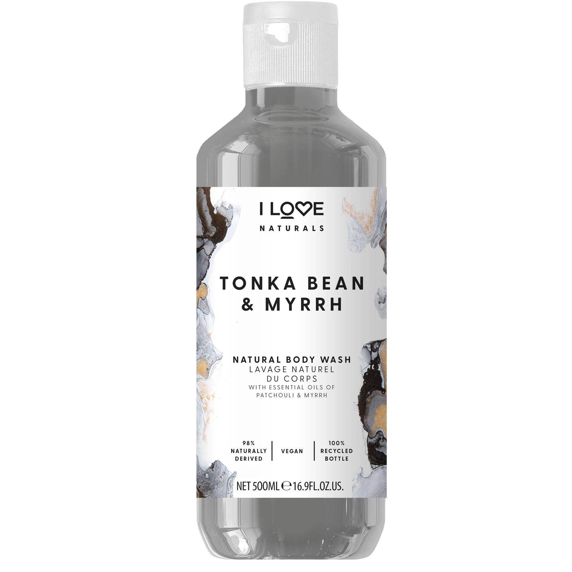 I love… Tonka Bean & Myrrh Body Wash Ενυδατικό Αφρόλουτρο με Άρωμα Μύρο & Κανέλα 500ml