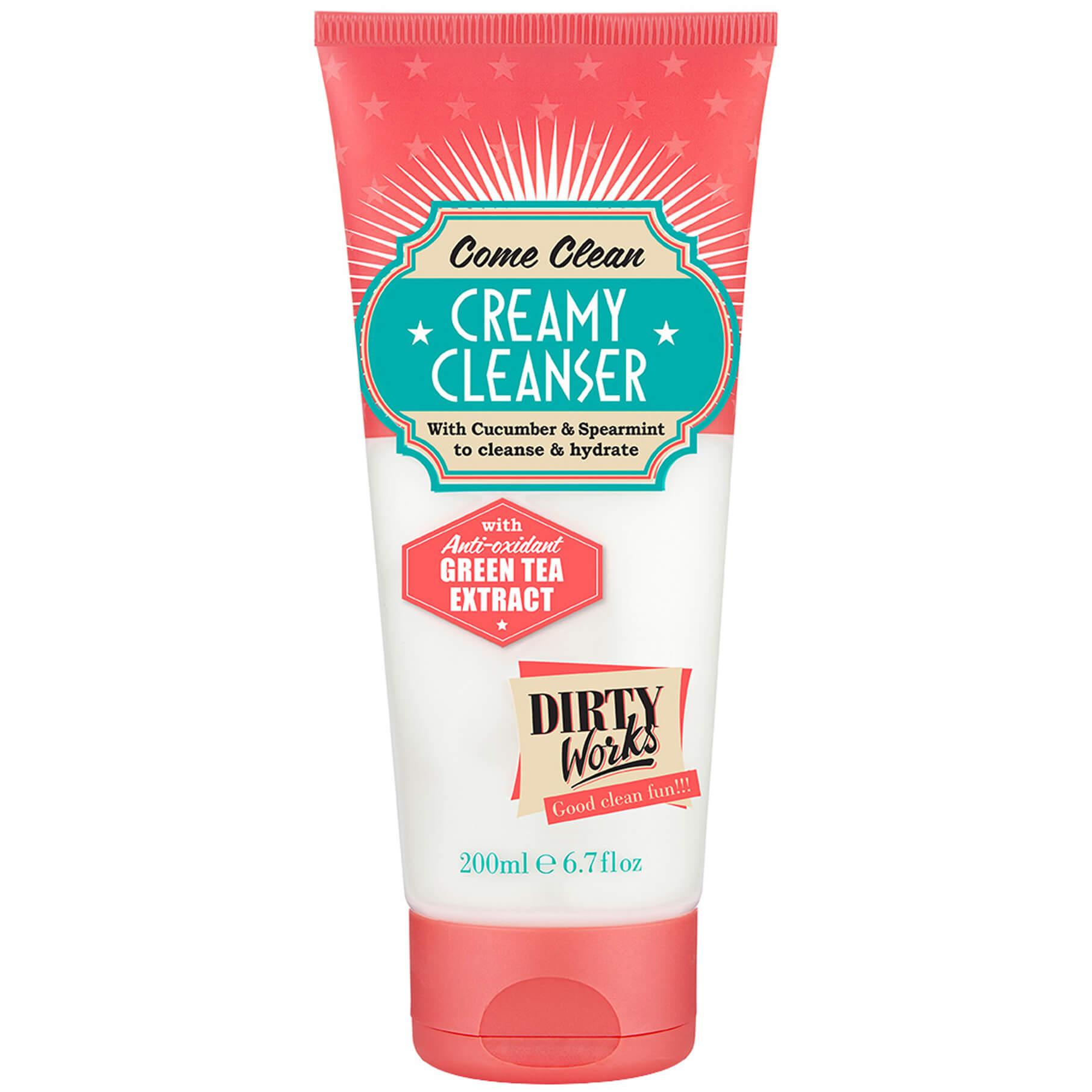 Dirty Works Come Clean Creamy Cleanser Κρεμώδες Καθαριστικό Προσώπου με Ενυδατικούς Παράγοντες 200ml