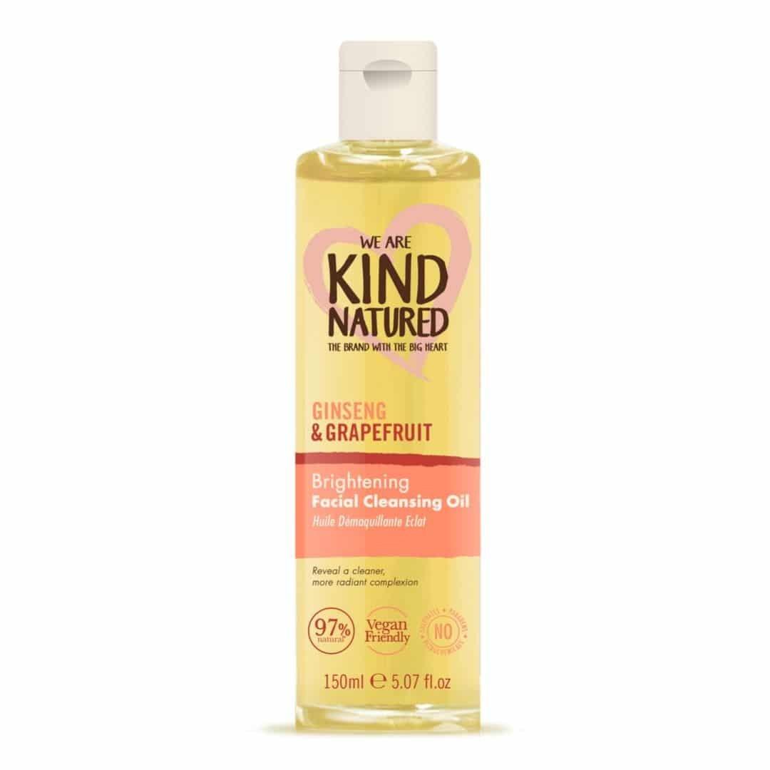 Kind Natured Brightening Ginseng & Grapefruit Facial Cleansing Oil Πολυτελές Έλαιο Καθαρισμού & Ντεμακιγιάζ 150ml