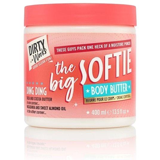 Dirty Works The Big Softie Body Butter Κρέμα Σώματος που Προσφέρει Βαθιά Θρέψη 400ml