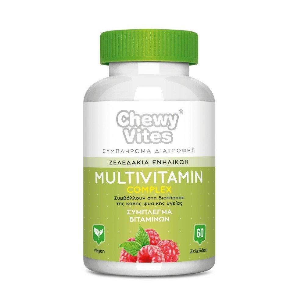 Chewy Vites Adults Multivitamin Complex,Σύμπλεγμα Βιταμινών Ενηλίκων σε Μορφή Ζελεδάκια που Συμβάλλουν στη Υγεία 60 Ζελεδάκια