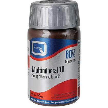 Quest Multimineral 10 (complex formula) 60tablets