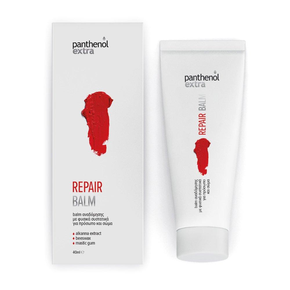Medisei Panthenol Extra Repair Balm Ενισχυμένο Balm Αναδόμησης με 99% Φυσικά Συστατικά, για Πρόσωπο & Σώμα 40ml