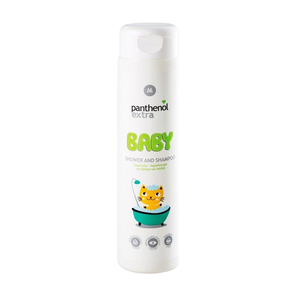 Medisei Panthenol Extra Baby Shower & Shampoo Σαμπουάν – Αφρόλουτρο για Βρέφη & Παιδιά 300ml
