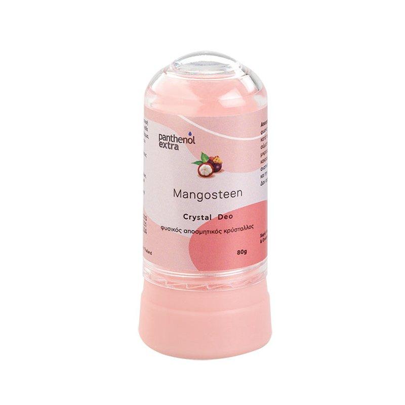 Medisei Panthenol Extra Mangosteen Crystal Deo Αποσμητικό Στικ Φυσικού Κρυστάλλου με Άρωμα Mangosteen 80gr