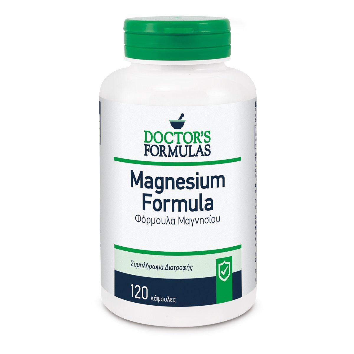 Doctor's Formulas Magnesium Φόρμουλα Μαγνησίου 120tabs