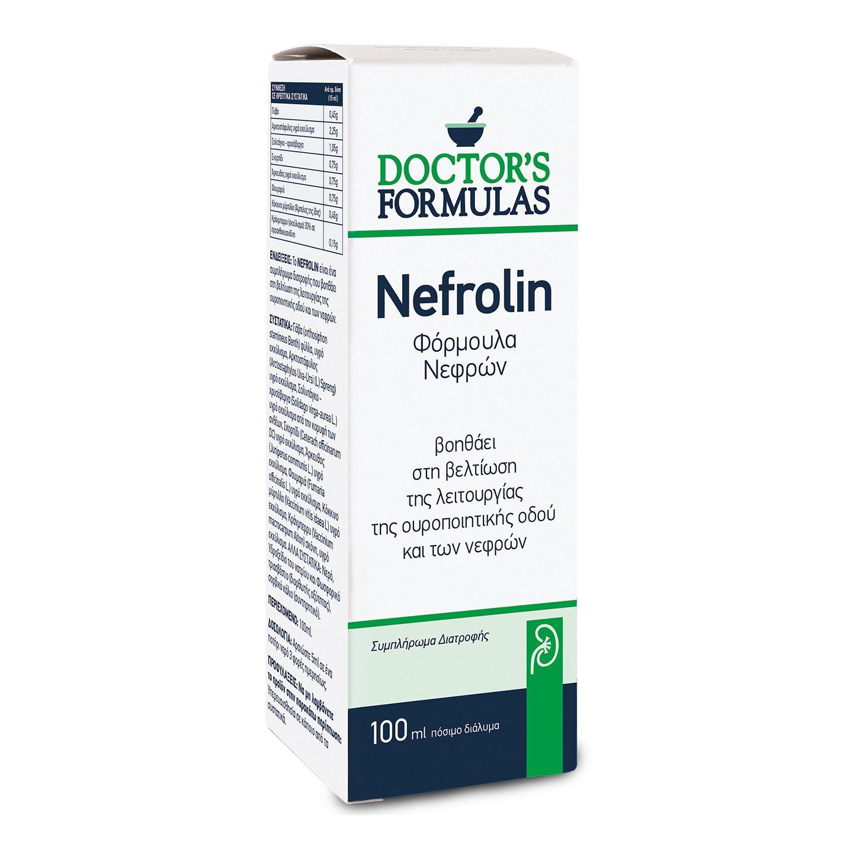 Doctor's Formulas Nefrolin Φόρμουλα Για τη Προστασία των Νεφρών 100 ml