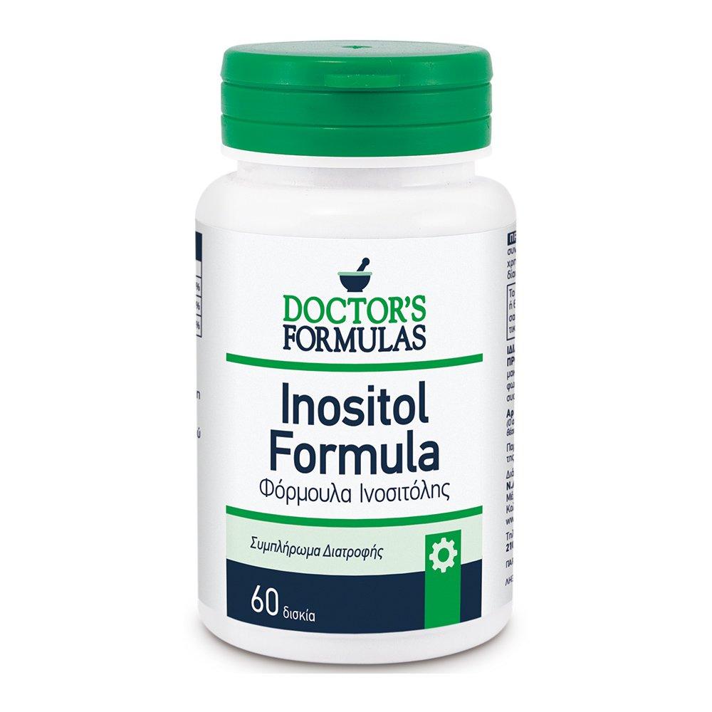 Doctor's Formula Inositol Formula Φόρμουλα για το νευρικό σύστημα 60 tabs