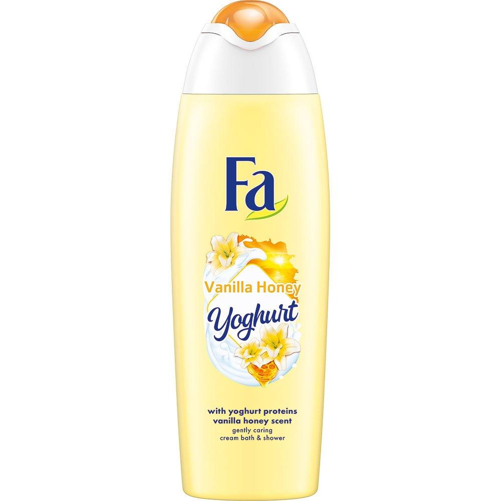 Fa Foam Bath Yoghurt Vanilla Honey Κρεμώδες Αφρόλουτρο με Απαλό Άρωμα, Παρέχει μια Μοναδική Αίσθηση Απαλότητας στο Δέρμα 750ml