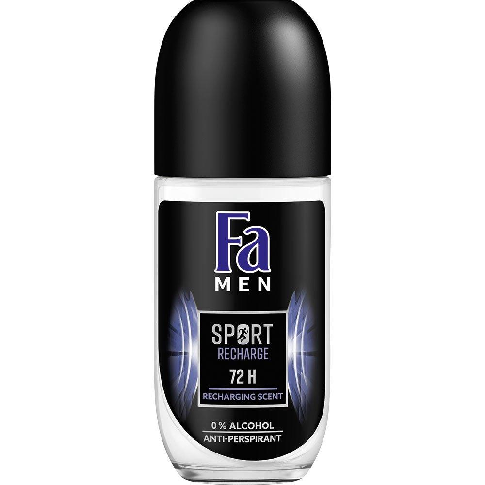 Fa Men Roll-On Sport Recharge Ανδρικό Αποσμητικό για Προστασία Ακόμα & σε Περιόδους Άγχους & Έντονης Δραστηριότητας 50ml