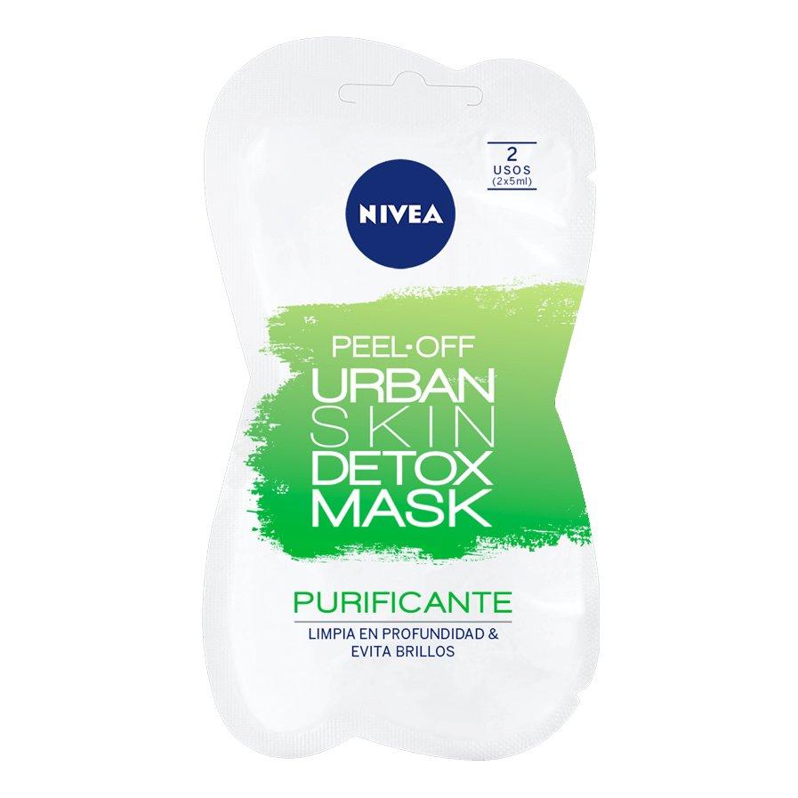 Nivea Urban Skin Detox Peel Off Mask Μάσκα Προσώπου Αποτοξίνωσης 15ml