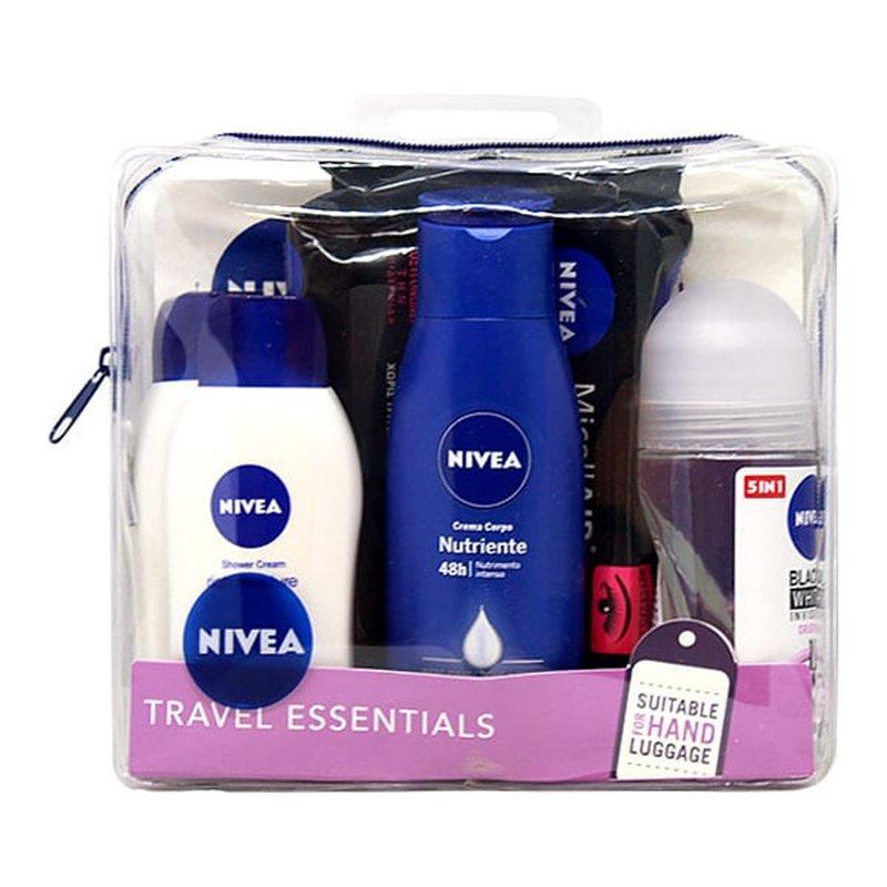 Nivea Female Travel Essentials Pack Γυναικείο Πακέτο Ταξιδιού για Σωματική Υγιεινή
