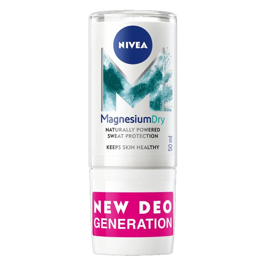 Nivea Magnesium Dry Fresh 48h Roll on Deo Promo -40%,Αποσμητικό 48ωρης Προστασίας με Ενεργό Μαγνήσιο 50ml