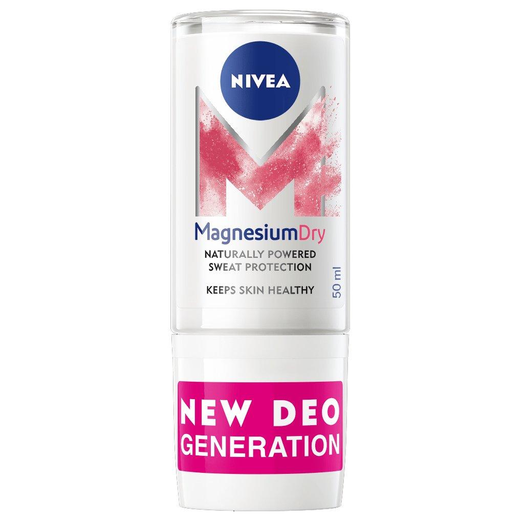 Nivea Magnesium Dry Original 48h Protection Roll on Deo Promo -40%,Αποσμητικό 48ωρης Προστασίας με Ενεργό Μαγνήσιο 50ml