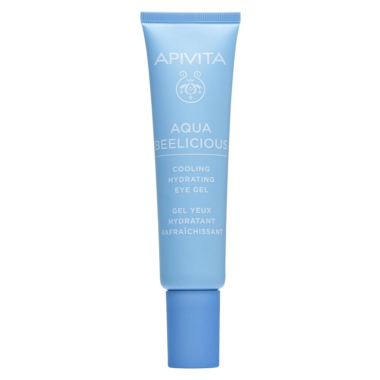 Apivita Aqua Beelicious Cooling Hydrating Eye Gel Δροσιστικό Gel Ενυδάτωσης για τα Μάτια με Λουλούδια & Μέλι 15ml
