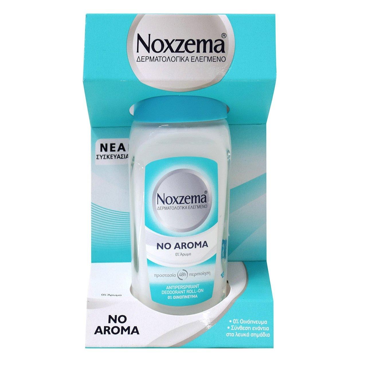 Noxzema No Aroma Αποσμητικό Υποαλλεργικό Χωρίς Άρωμα 50ml