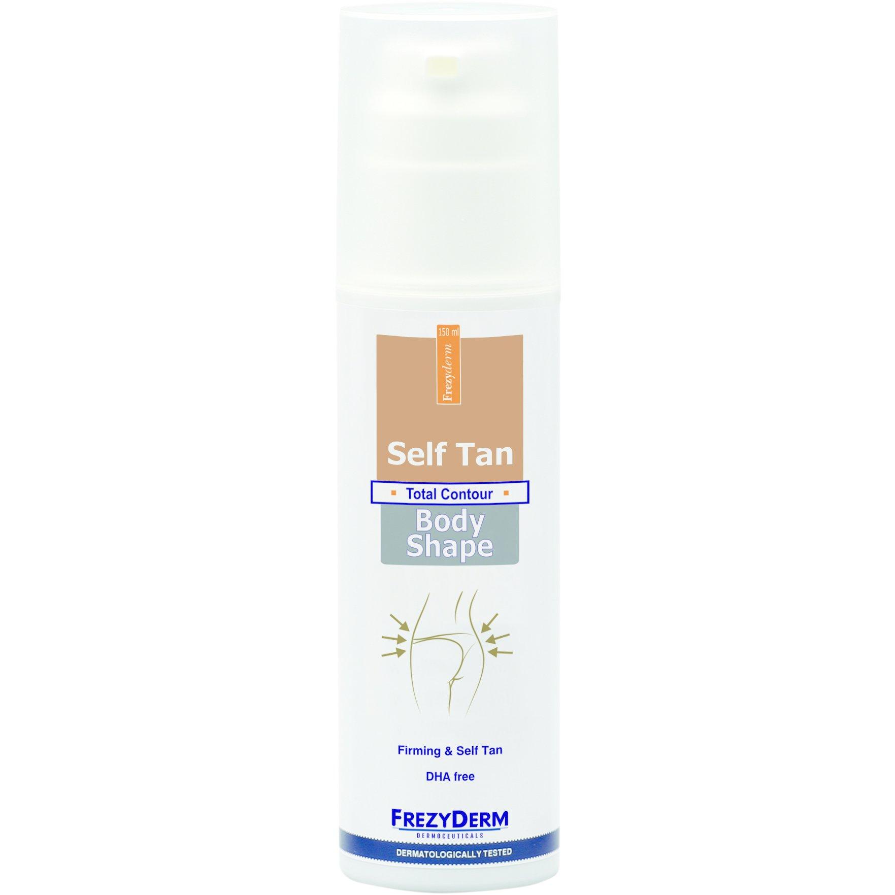 Frezyderm Self Tan Body Shape Αυτομαυριστικό Γαλάκτωμα με Παράλληλη Συσφικτική Δράση 150ml