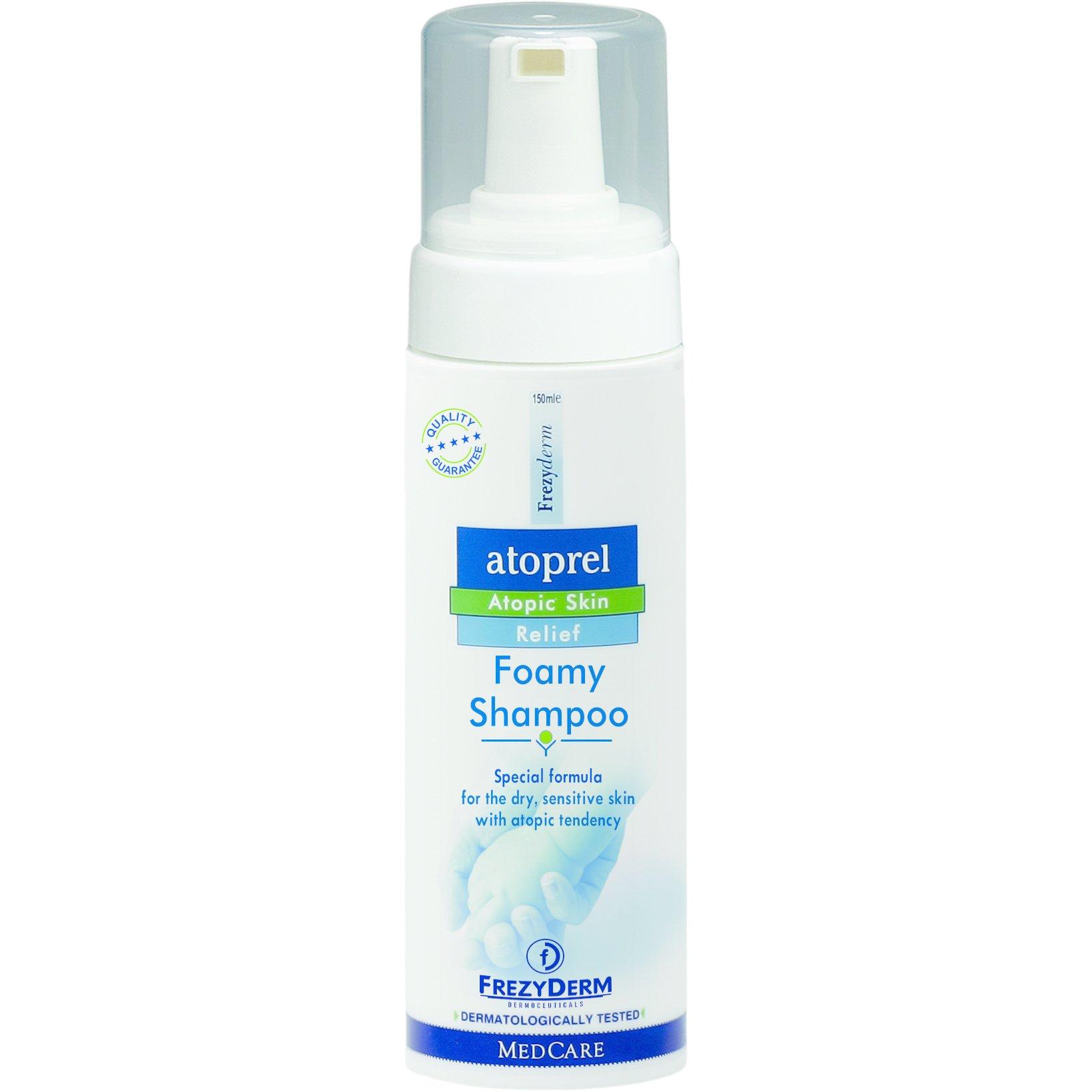 Frezyderm Atoprel Foamy Shampoo Ειδικό Σαμπουάν σε Μορφή Αφρού για Ξηρό Ευαίσθητο με Ατοπική Προδιάθεση Δέρμα 150ml