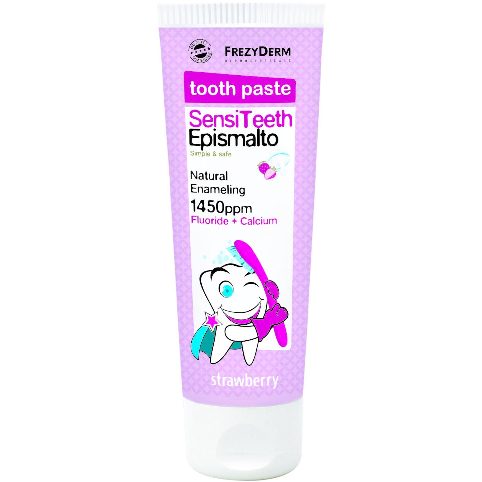 Frezyderm SensiTeeth Epismalto Tooth Paste 1.450ppm Οδοντόκρεμα που Ενισχύει το Σμάλτο των Δοντιών για Παιδιά Από 6 Ετών 50ml