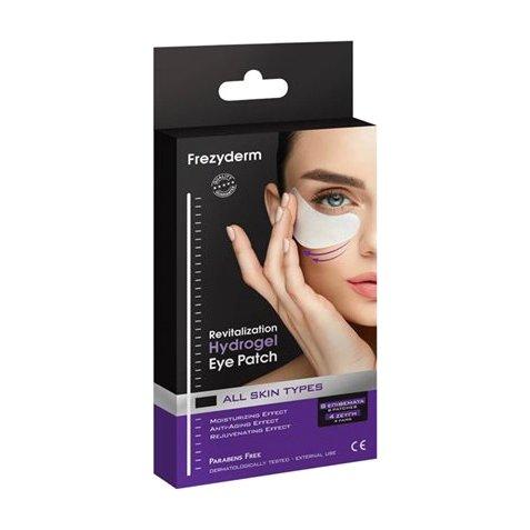 Frezyderm Revitalization Hydrogel Eye Patch Μάσκα Ματιών Υδρογέλης 4 ζεύγη