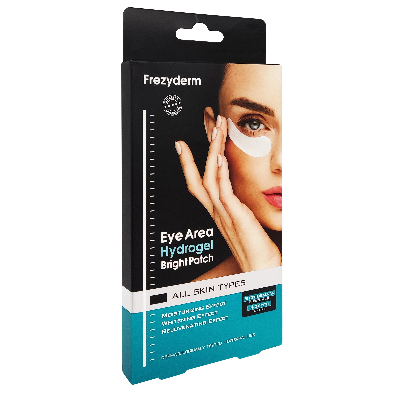 Frezyderm Eye Area Hydrogel Bright Patch Μάσκα Ματιών Υδρογέλης για το Κουρασμένο Δέρμα Κάτω Από τα Μάτια 4 Ζεύγη