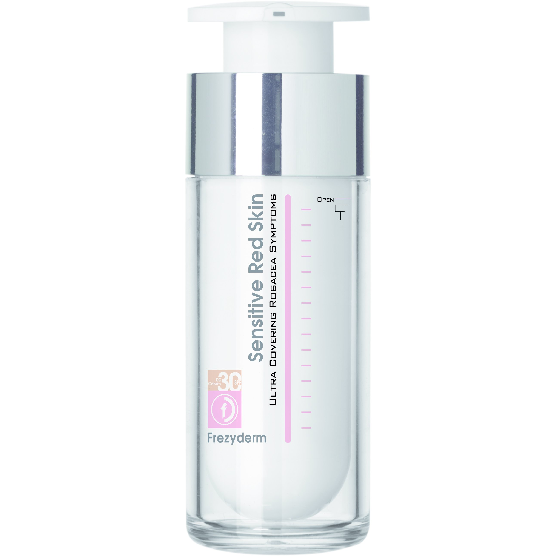 Frezyderm Sensitive Red Skin Tinted Cream Κρέμα με Χρώμα για Ευαίσθητες Επιδερμίδες Spf30 30ml