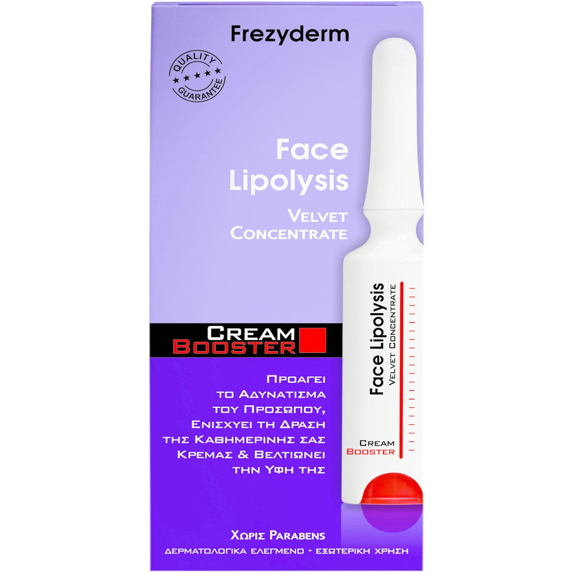 Frezyderm Face Lipolysis Cream Boosterμε Αντιφλεγμονώδη Δράση & Μείωση των Οιδημάτων (Αδυνάτισμα) 5ml