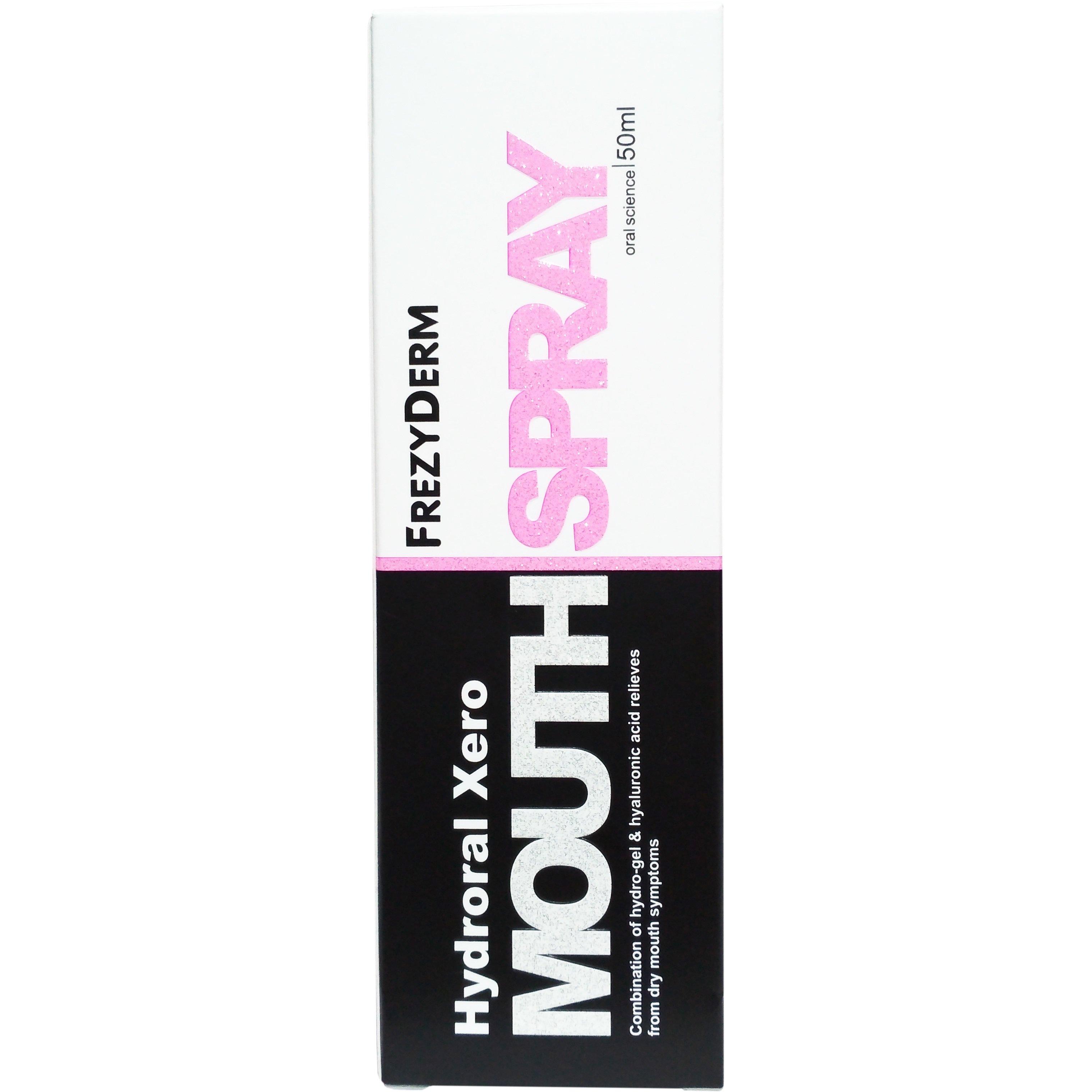 Frezyderm Hydroral Xero Mouth Spray για Άμεση Ενυδάτωση & Επαναφορά της Υγρασίας του Στόματος 50ml