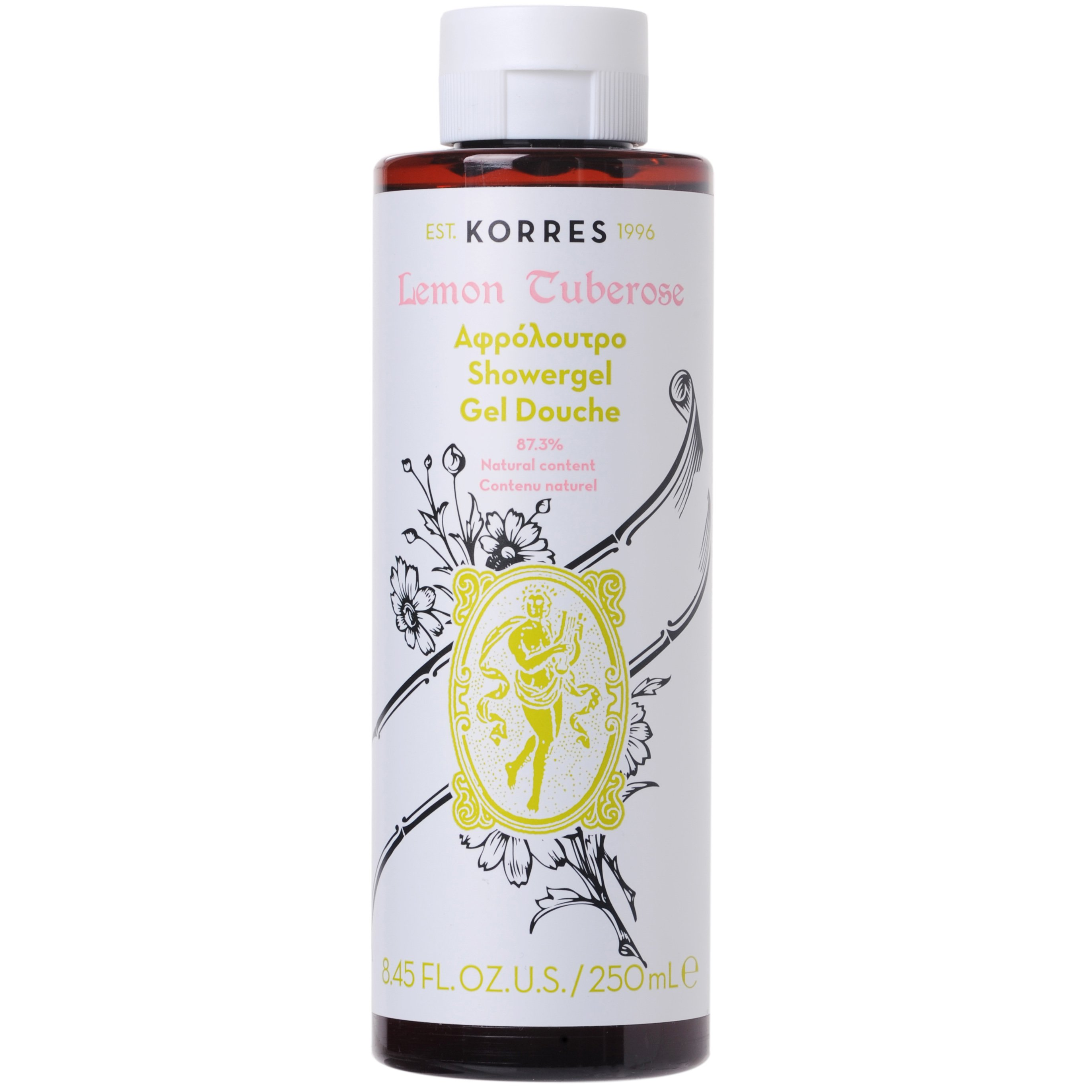 Korres Showergel Lemon Tuberose Αφρόλουτρο με Άρωμα Λεμόνι 250ml