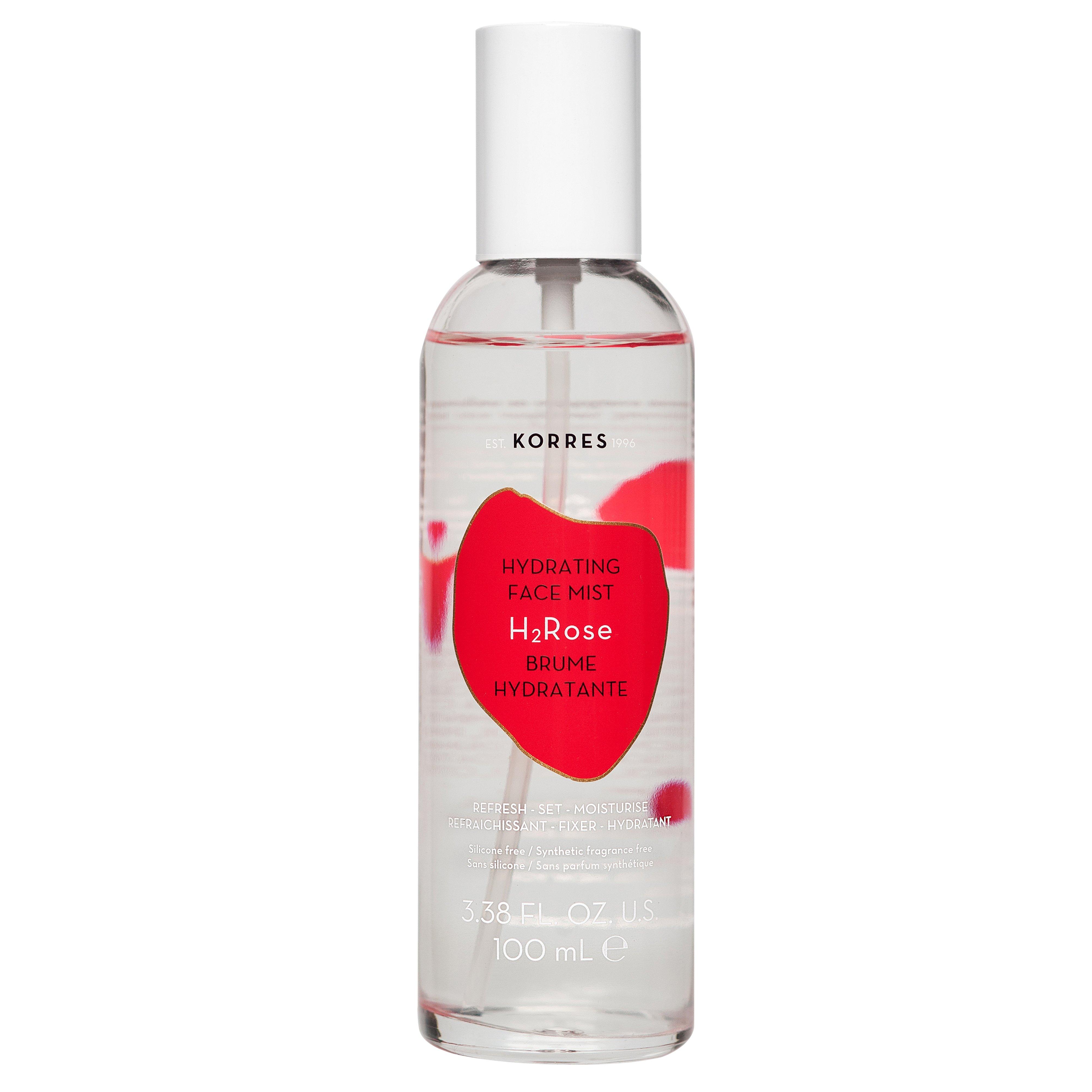 Korres Wild Rose Hydrating Face Mist Άγριο Τριαντάφυλλο Ενυδατικό Mist Προσώπου Super Λάμψη Non-Stop Ενυδάτωση & Τόνωση 100ml
