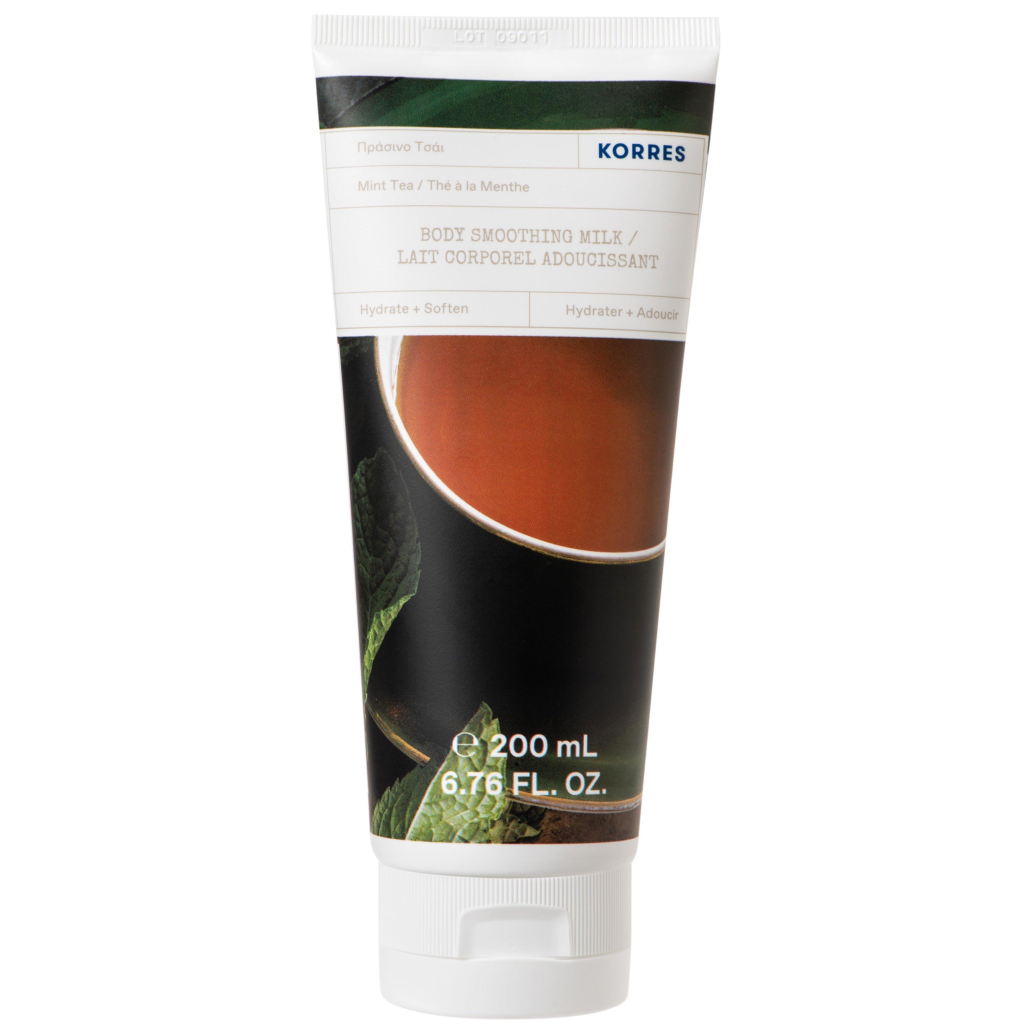 Korres Mint Tea Body Smoothing Milk Ενυδατικό Γαλάκτωμα Σώματος με Δροσερό Άρωμα Πράσινο Τσάι 200ml