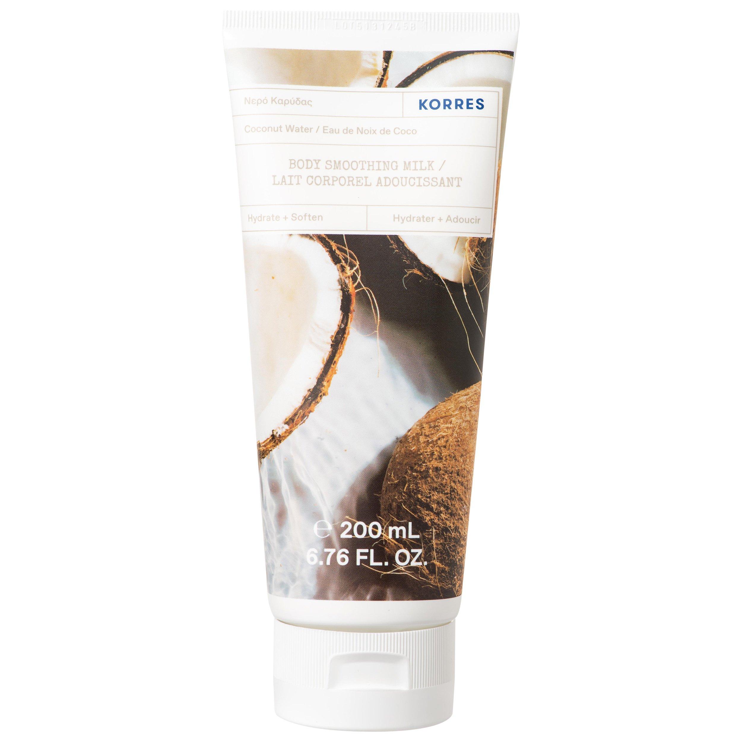 Korres Coconut Water Body Smoothing Milk Γαλάκτωμα Σώματος με Νερό Καρύδας 200ml