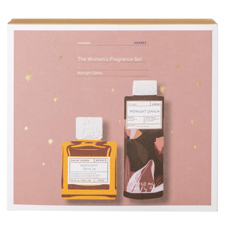 Korres Gift Set The Women's Fragrance Set Midnight Dahlia Eau De Toilette 50ml & Scented Showergel 250ml σε Ειδική Τιμή
