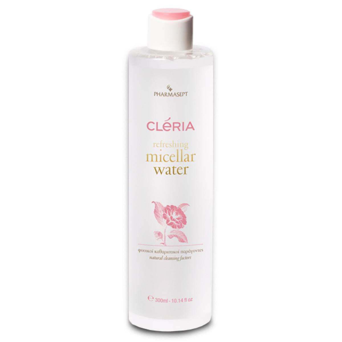 Pharmasept Cleria Refreshing Micellar Water Νερό Ντεμακιγιάζ για Πρόσωπο & ΜάτιαAll Skin Τypes 300ml