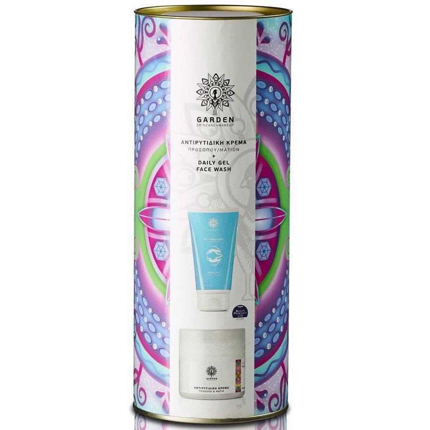 Garden of Panthenols Promo Tube 1 Αντιρυτιδική Κρέμα Προσώπου & Ματιών 50ml & Daily Gel Face Wash Αφρίζον Gel Καθαρισμού 150ml
