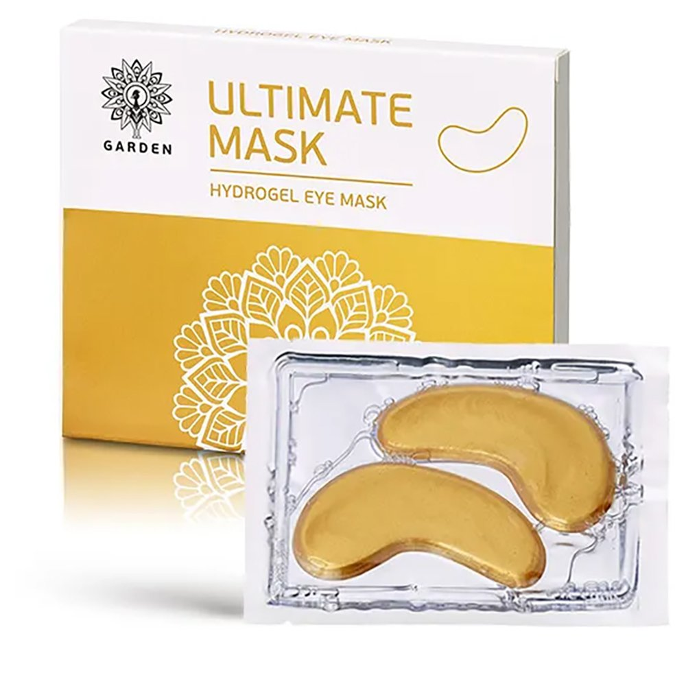 Garden Ultimate Hydrogel Eye Mask Ενυδατική & Συσφικτική Μάσκα Ματιών – Επίθεμα Υδρογέλης με Χρυσό & Κολλαγόνο 3 Τεμάχια